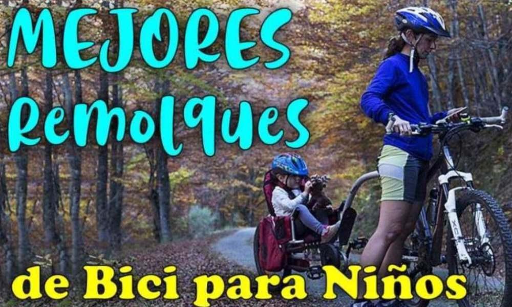 Mejores remolques para bici para niños