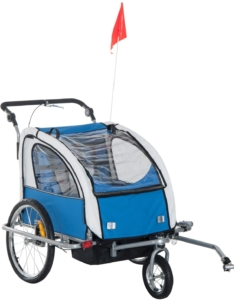 Remolques Para Bici Para Niños HOMCOM