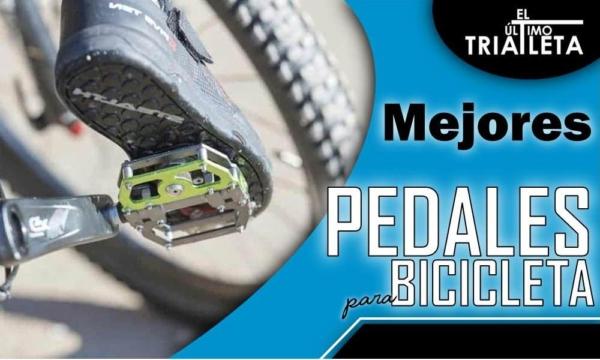 mejores pedales de bicicleta