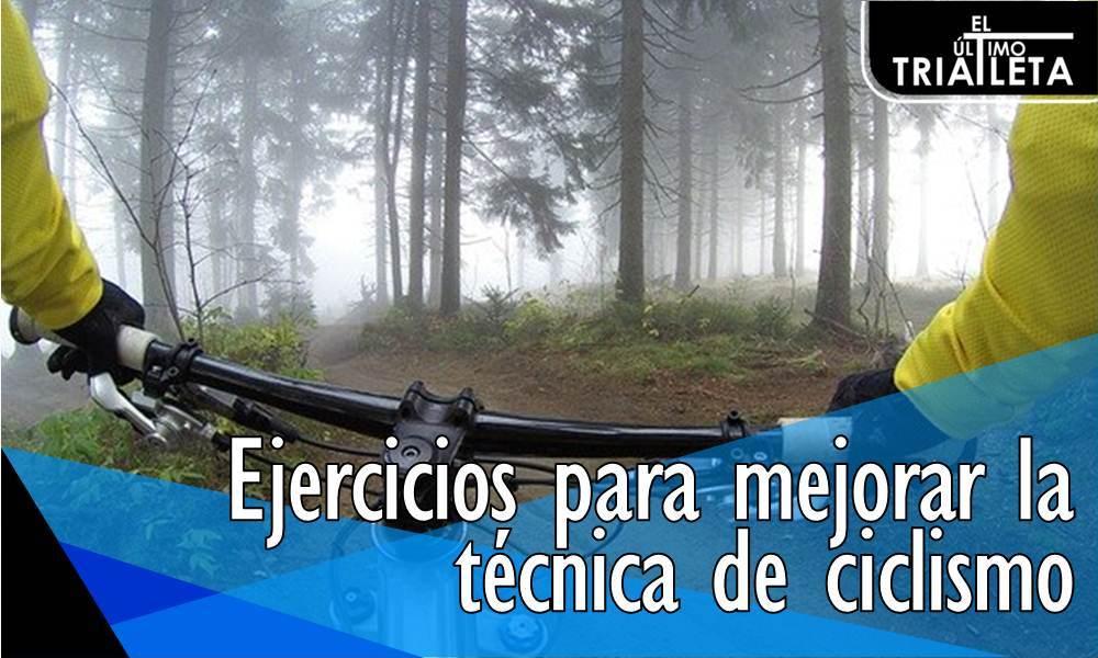 Ejercicios para mejorar la técnica de ciclismo