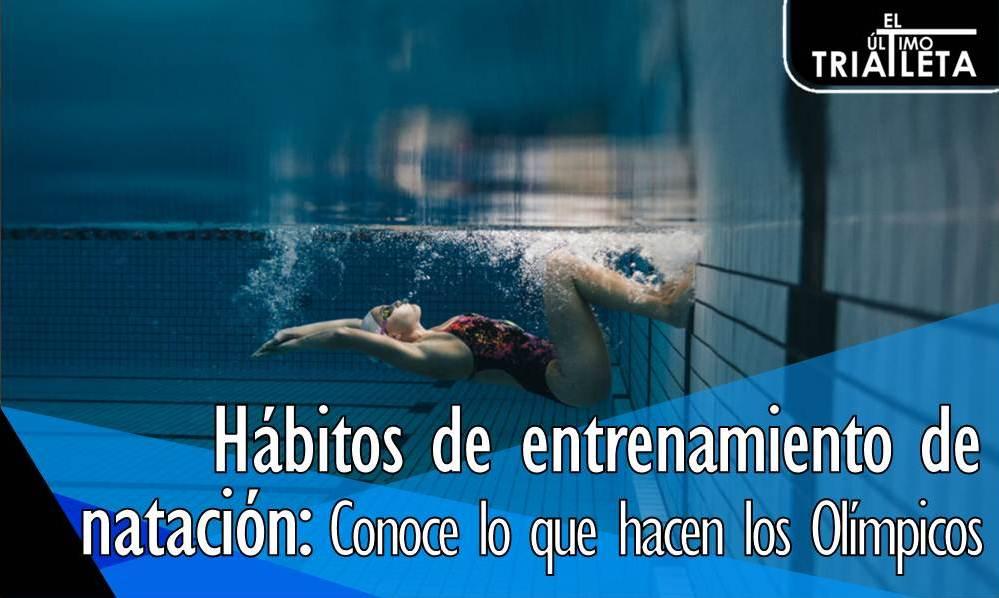 Hábitos de entrenamiento de natación