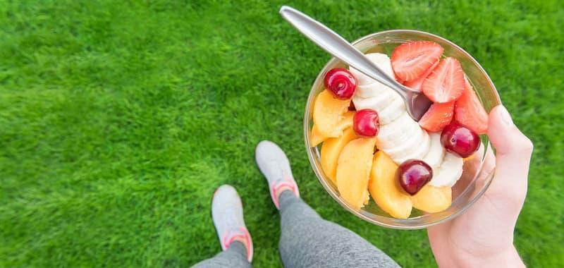 La dieta adecuada te dará toda la energía para correr a los 40