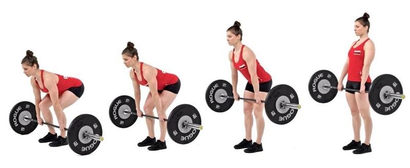 Peso muerto es de los mejores para aumentar masa muscular