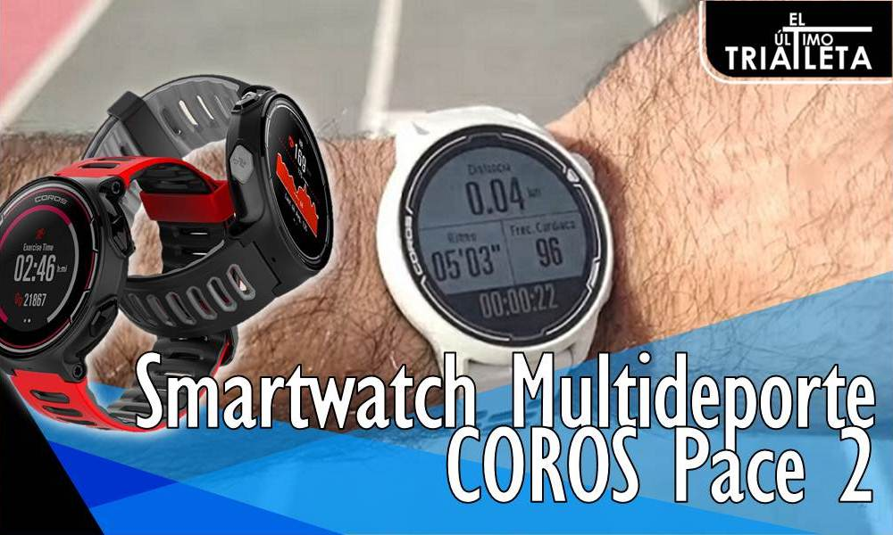 Smartwatch Multideporte COROS Pace 2