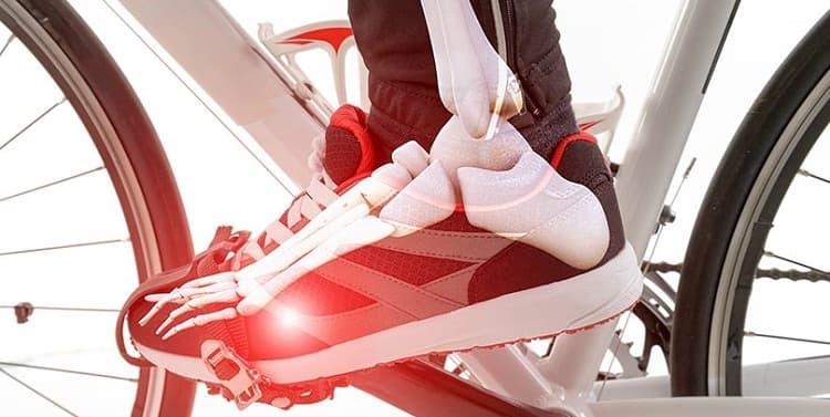 Una correcta posición de los tobillos ayudará a evitar lesiones