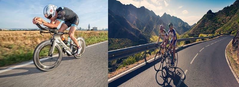 Diferencias Entre Una Bicicleta De Carretera Y Una De Triatlón