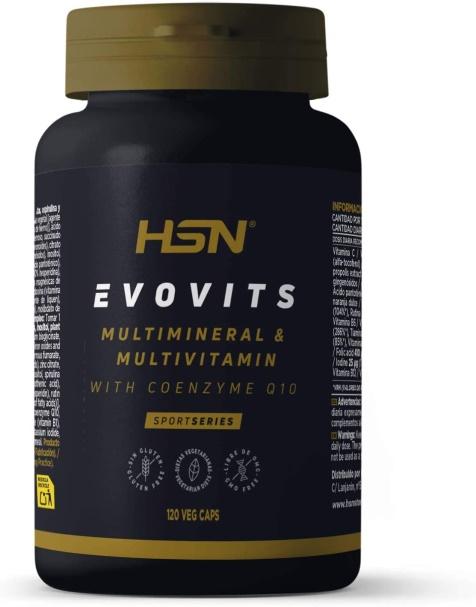 Vitaminas para deportistas Evovits de HSN