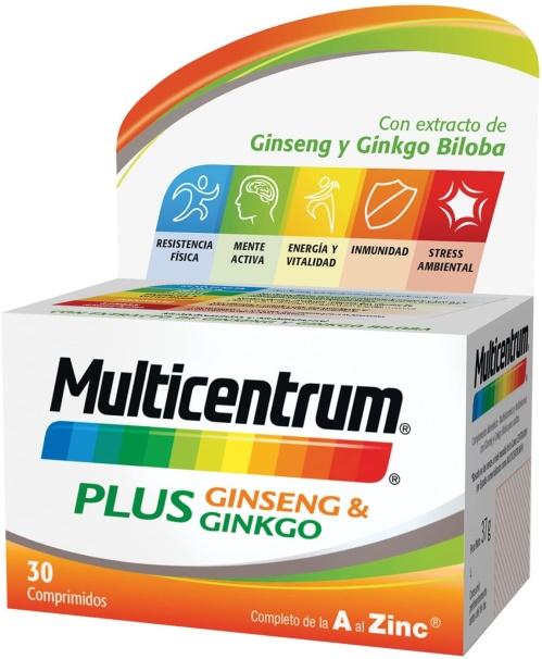 Vitaminas para deportistas Multicentrum Plus