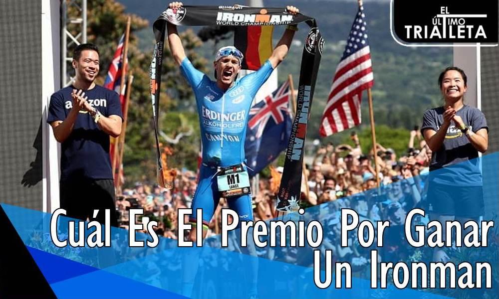 Cuál Es El Premio Por Ganar Un Ironman