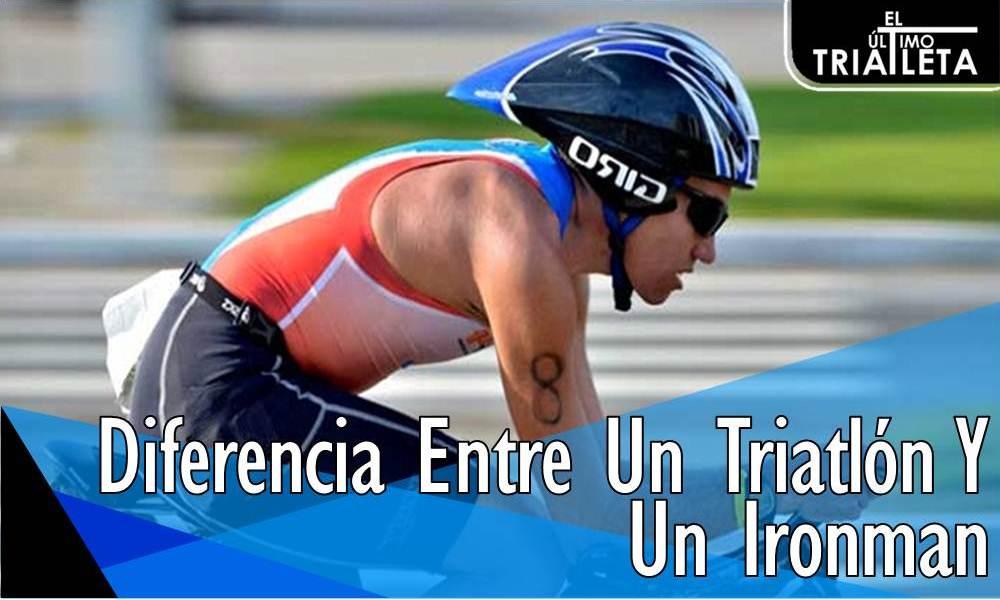 Diferencia Entre Un Triatlón Y Un Ironman