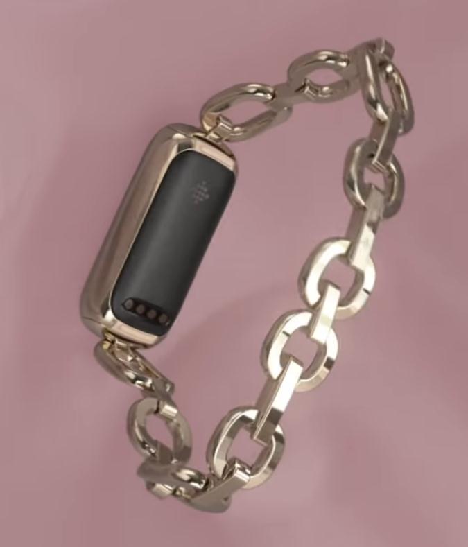 Fitbit Luxe sensores