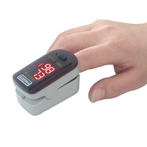 oxímetro de pulso para el dedo